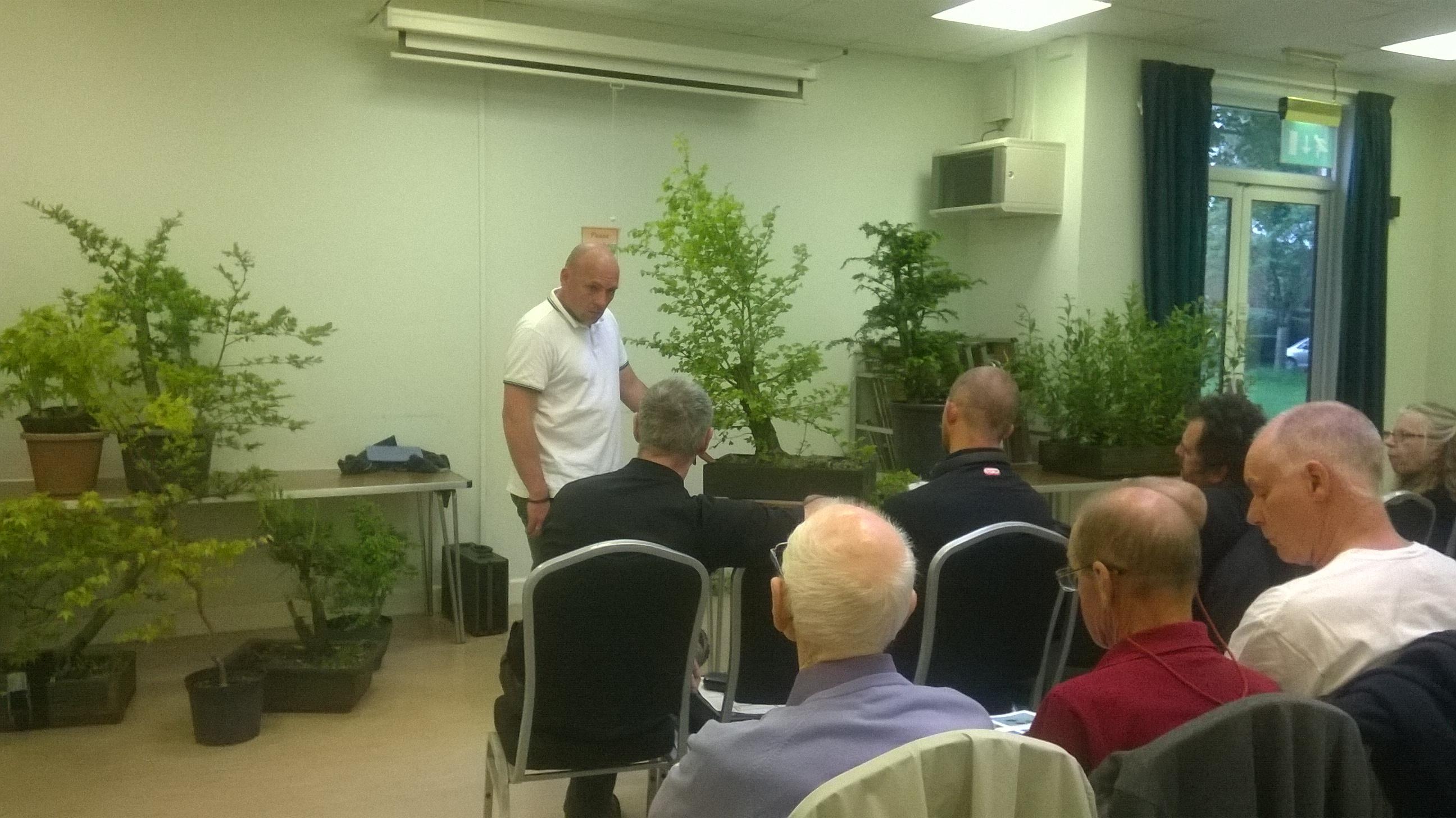 David Giltrow Wessex Bonsai Society