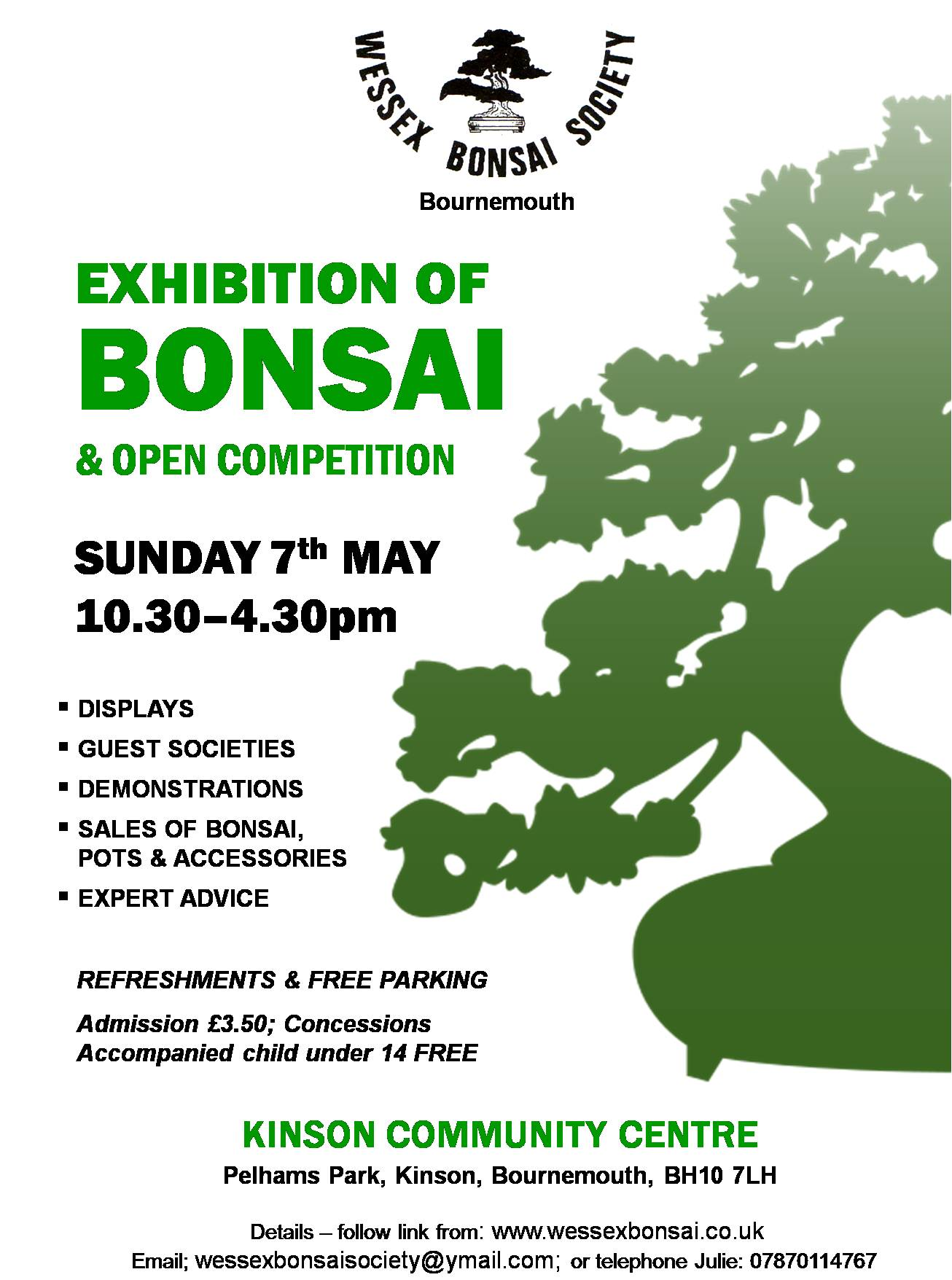 Wessex Bonsai Exhibition May 2017